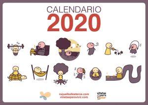 Calendario 2020 Portada